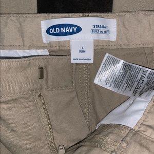 Old Navy Bottoms - Boys Old Navy Khaki school uniform pants
